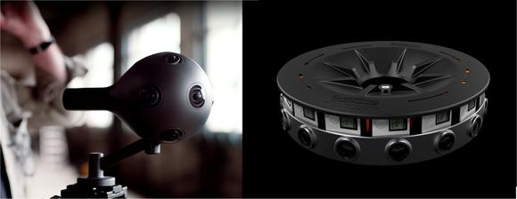 Got a five figure Christmas Gift budget? Then this holiday season it's take your pic (Pun!) between the Nokia Ozo (left) and GoPro Odyssey (right).
