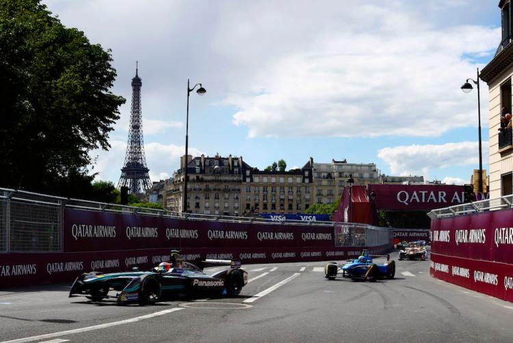 2017 FIA Formula E Championship : Paris E Prix